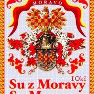 Moravská poštovní známka