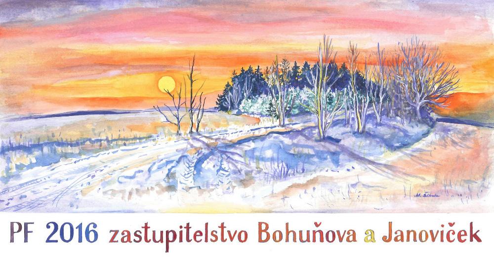 PF 2016 Bohuňov